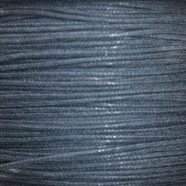 Waxkoord donker blauw 1mm per meter
