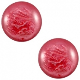 Cabochon Polaris 12mm pearl shine jester red 20424