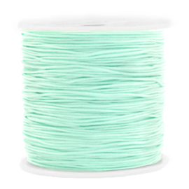 Macramé draad 0,8mm light turquoise green 56236