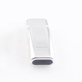 Magneetslot 8x3mm antiekzilver
