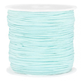 Macramé draad 0,8mm turquoise blue 72684