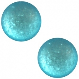 Cabochon Polaris 20mm paipolas matt indicolite blue 20867