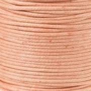 DQ Leer rond 2mm pale blush per 20cm