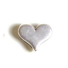 DQ leerschuiver hart voor 10mm antiekzilver metaal mf7721