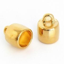 DQ eindkapje voor 5mm goud mf6997