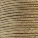 Waxkoord khaki metallic 1mm per meter