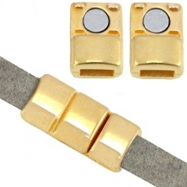 DQ magneetslot voor 5x2mm goud nikkelvrij 26889