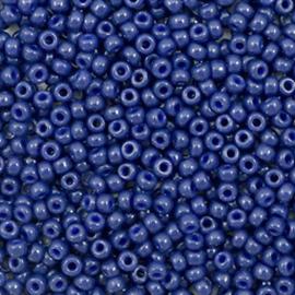 Miyuki rocailles 11/0 (2mm) duracoat opaque dyed navy blue 11-4493