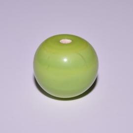 Glaskraal 14mm rond lime