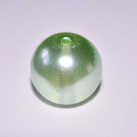 Glasparel 10mm rond lichtgroen