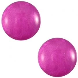 Cabochon Polaris 20mm mosso shiny purple orchid 20537