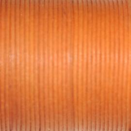 Waxkoord oranje 0,5mm per meter
