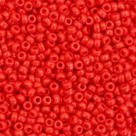 Miyuki rocailles 11/0 (2mm) opaque red 408