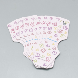 Sieradenkaartje 9,5x3,6cm, 10 stuks CDIS-R034-25