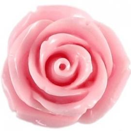 Roosje 15x7mm licht roze