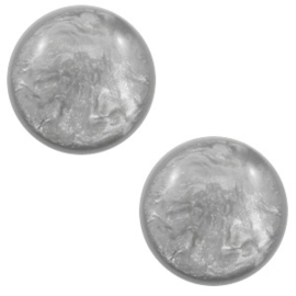 Cabochon Polaris 12mm lively light grey 56107
