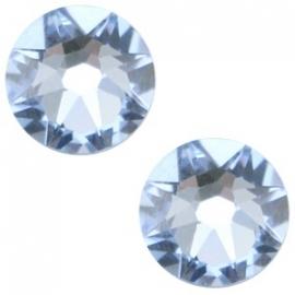 Swarovski Elements SS34 flatback Xirius Rose light sapphire 26944
