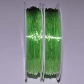 Elastisch nylon 0,8mm 10 meter lichtgroen
