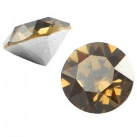 Swarovski Elements puntsteen SS29 6.2mm Smokey Quartz Brown 24887