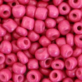 Rocailles 4mm 6/0 cabernet pink 71178