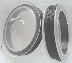 Staaldraad 0,3mm zilvergrijs 60 mtr D07928