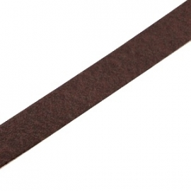 DQ Leer plat 10mm dark brown 26997