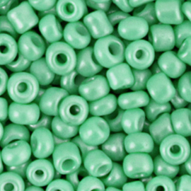 Rocailles 4mm 6/0 vivid green 68254