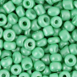 Rocailles 4mm 6/0 vivid green 68254