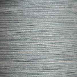 Waxkoord grijs 1mm per meter
