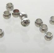 Knijpkraal 1mm 50 stuks nikkel