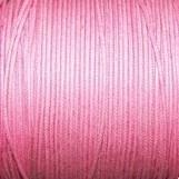 Waxkoord roze 0,5mm per meter