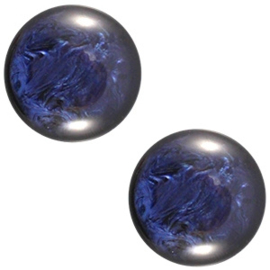 Cabochon Polaris 12mm pearl shine evening blue 20426