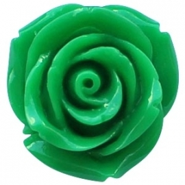 Roosje 11x8mm ultra green