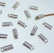 Leerklemmetje 9x4mm 20 stuks nikkel B01170