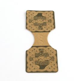 Sieradenkaartje 9x3,5cm, 10 stuks CDIS-Q001-25