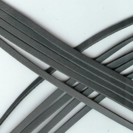 DQ Leer plat 6mm trend grijs mf17321