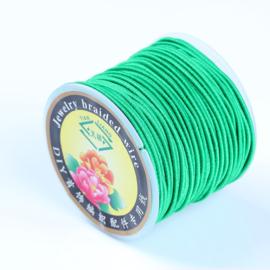 Elastisch draad 1mm groen 1 meter