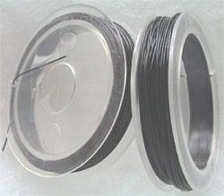 Staaldraad 0,8mm zilvergrijs 18 mtr D28036