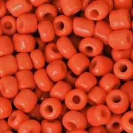 Rocailles 4mm 6/0 fiery orange 71183