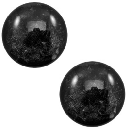 Cabochon Polaris 7mm lively black 56102
