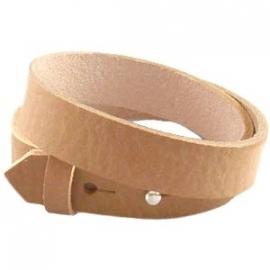 Cuoio armband dubbel 15mm leer aztec bruin 20206