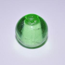 Glaskraal 16mm rond groen