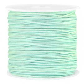 Macramé draad 0,8mm soft turquoise green 72682