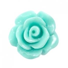 Roosje 10mm shiny turquoise green 34788