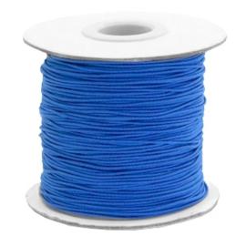Elastisch draad 0,8mm princess blue 1 meter 56828