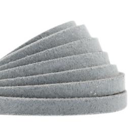 DQ Leer plat 5mm grey 26861
