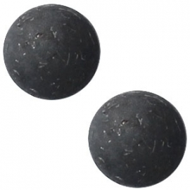 Cabochon Polaris 12mm flake black 16875