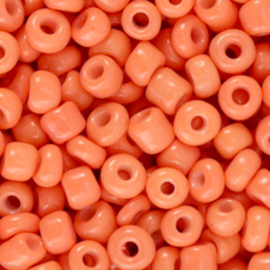 Rocailles 4mm 6/0 desert sun orange 66149
