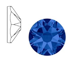 Swarovski Elements SS34 flatback Xirius Rose majestic blue 52127