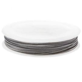 Metaaldraad 0,35mm zilver 25 meter A2307